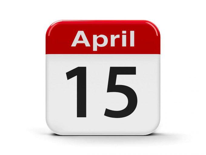 april 15th tax filing deadline